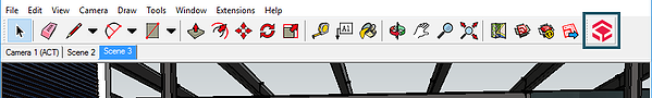 Yulio Plugin on SketchUp toolbar