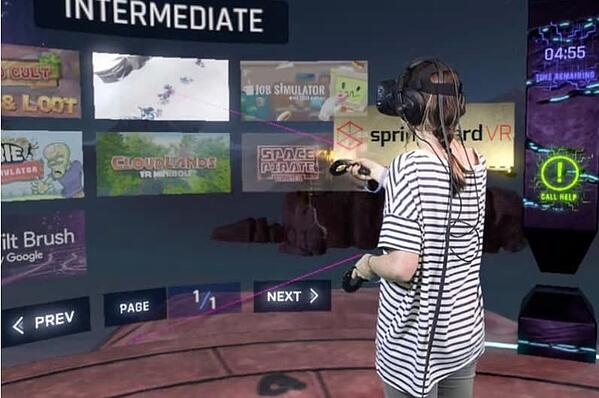 The partners in Springboard VR started out as operators themselves. They now operate a comprehensive cloud based VRcade management system as a service to other operators.