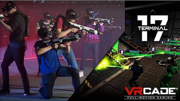 In Terminal 17 from VR Studios, you are one of eight galactic marines clearing a bug infestation.