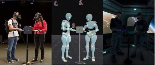 VR entertainment set up