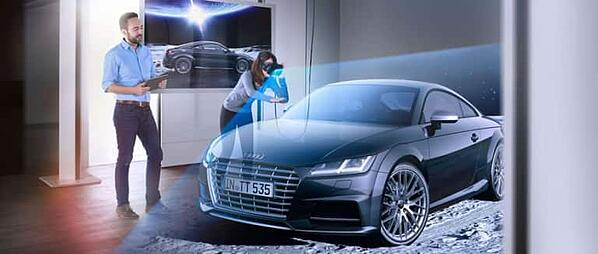 VR collaboration is key to the future of how Audi works, not just sales