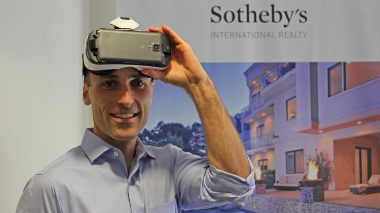 Real-estate agent Matthew Hood has brought VR to Sotheby's International Realty