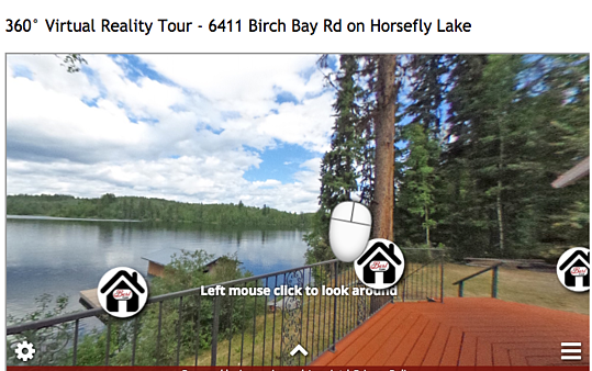 Fishtank Tour of a property from Re/Max agent site thebestteam.ca