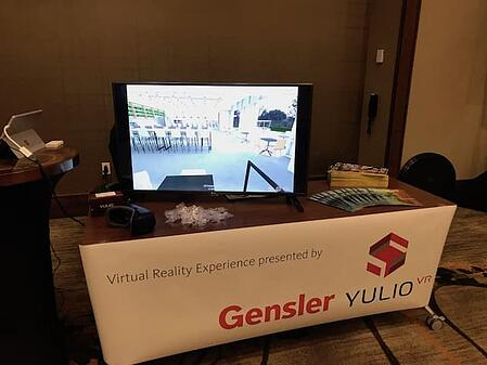 We're always open to VR learning from partners and tradeshow experiences