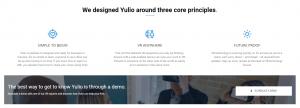 Yulio Website CTA