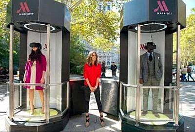 Marriott's Teleporter appeared in several US cities