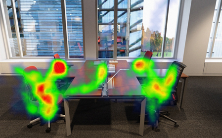 Yulio Heat Maps for VR