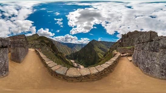 Machu Picchu in VR