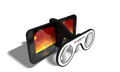 The Homido Mini is a pair of folding glasses that clips onto any phone and provides a great viewing experience. A winner in our VR headset comparison.