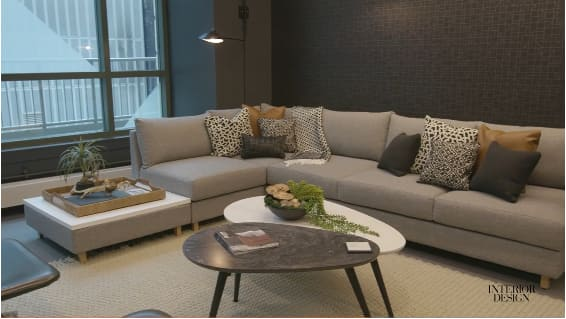 NeoCon introduces residential design into the commercial and hospitality sector for warmth and comfort